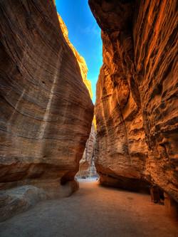 Morning Light in Petra
