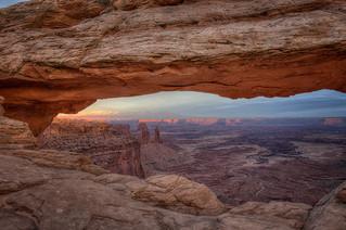 Mesa Arch, Canyonlands NP, Utah, USA
