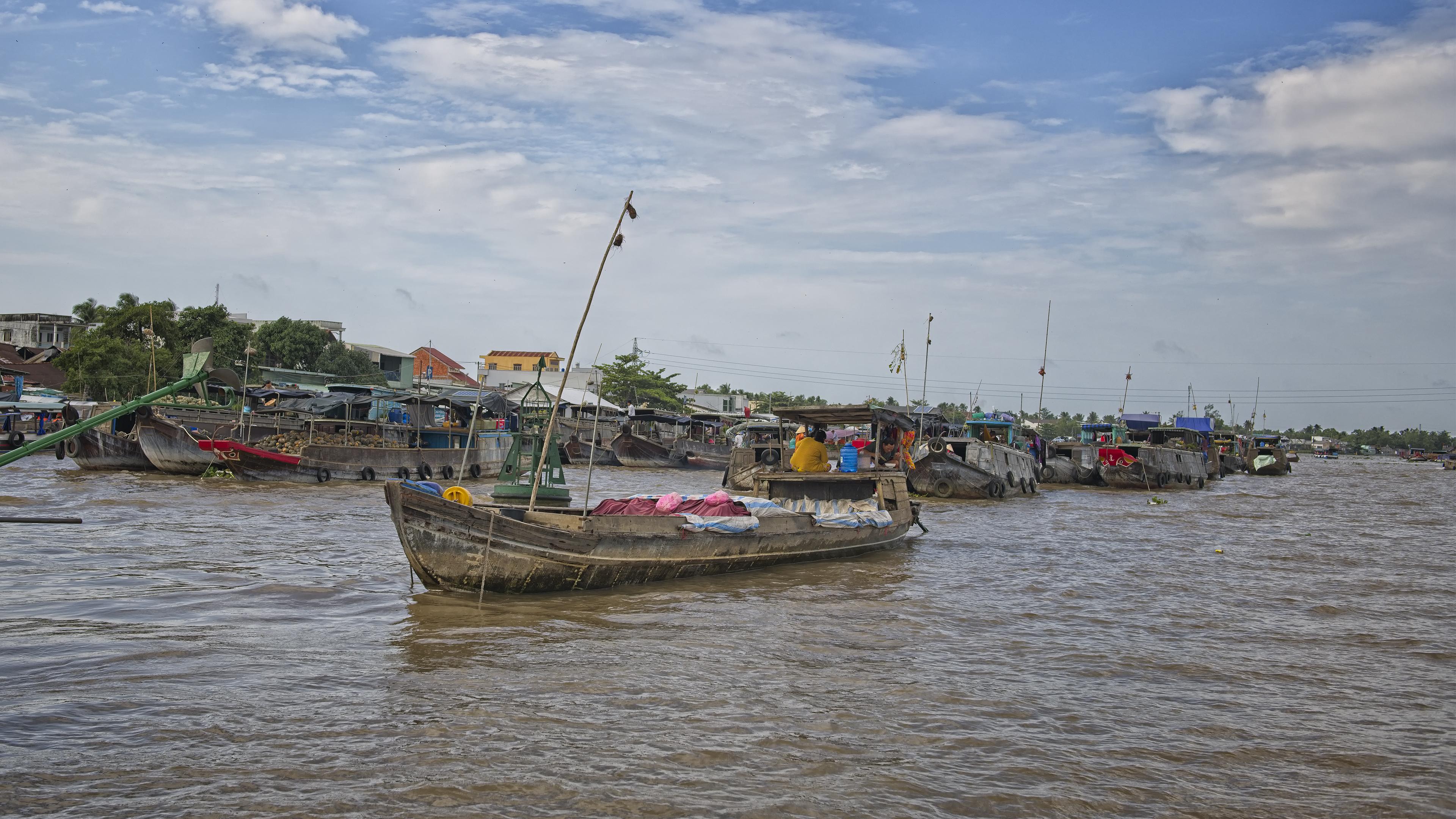 Floating Market in Cần Thơ