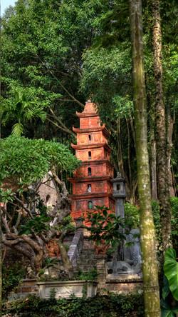 Pagoda in Việt Phủ Thành Chương