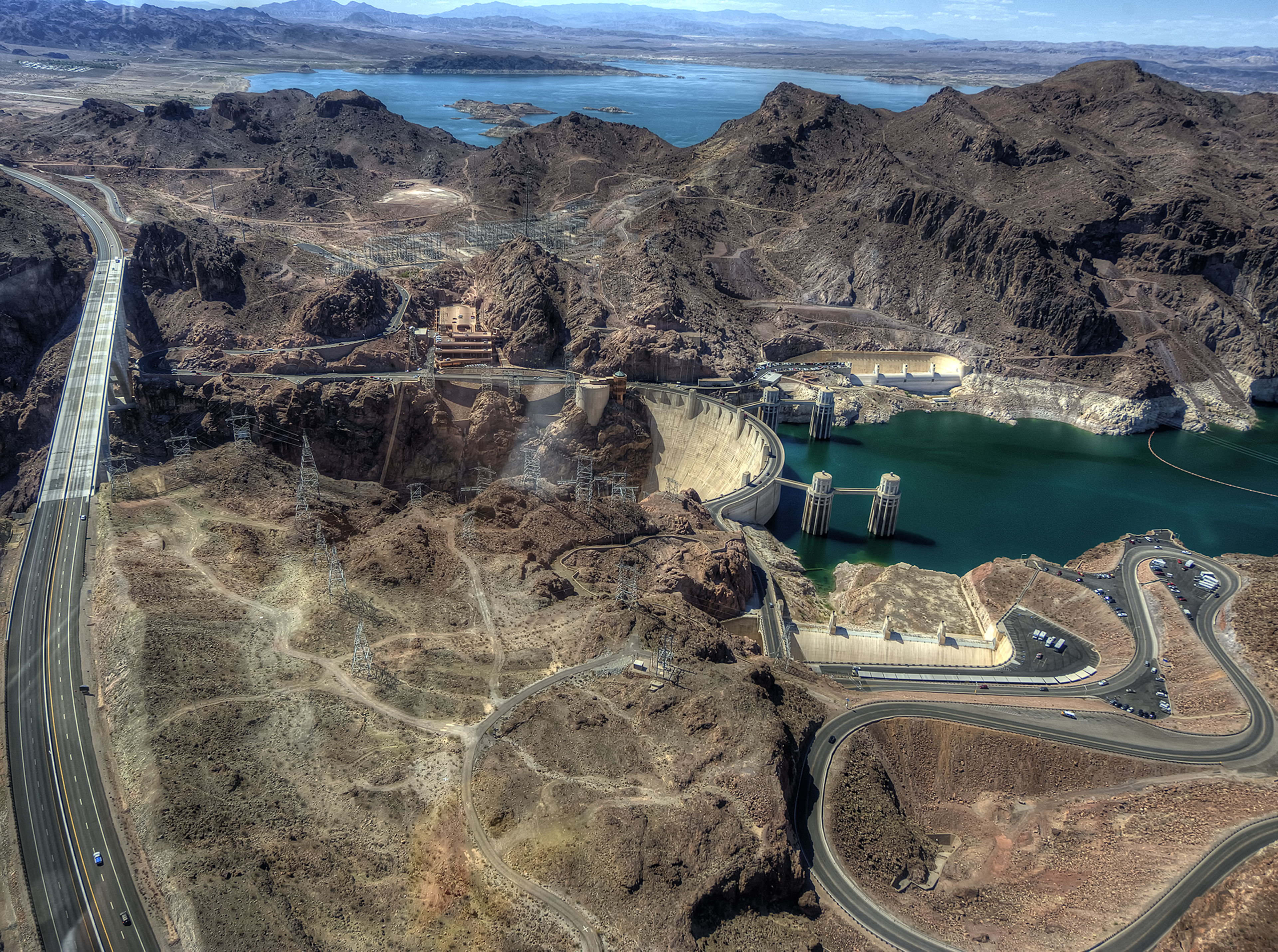 Hoover Dam from Air