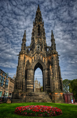 Scott Monument in Edinburgh