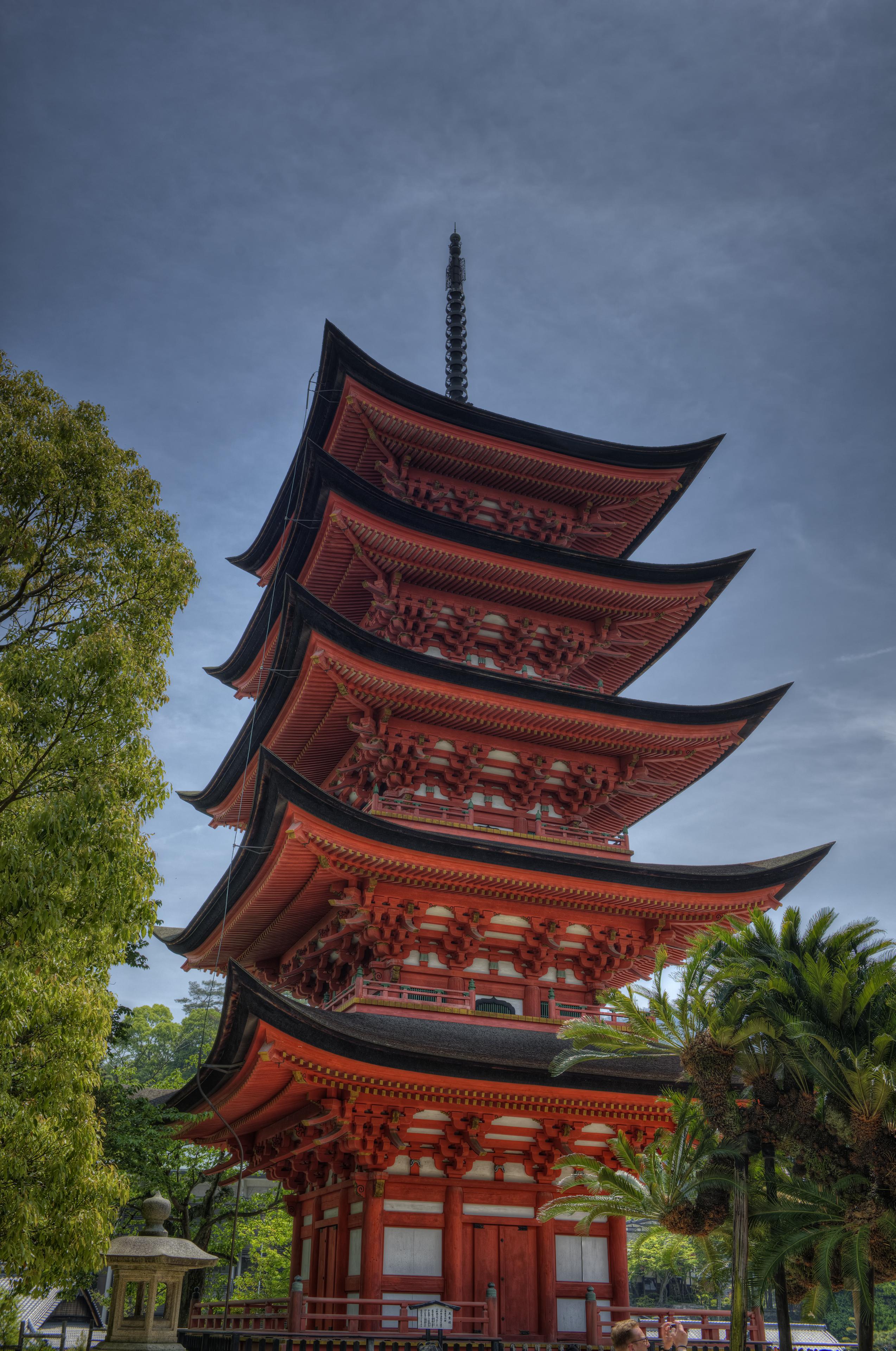 Pagoda in Miyajima