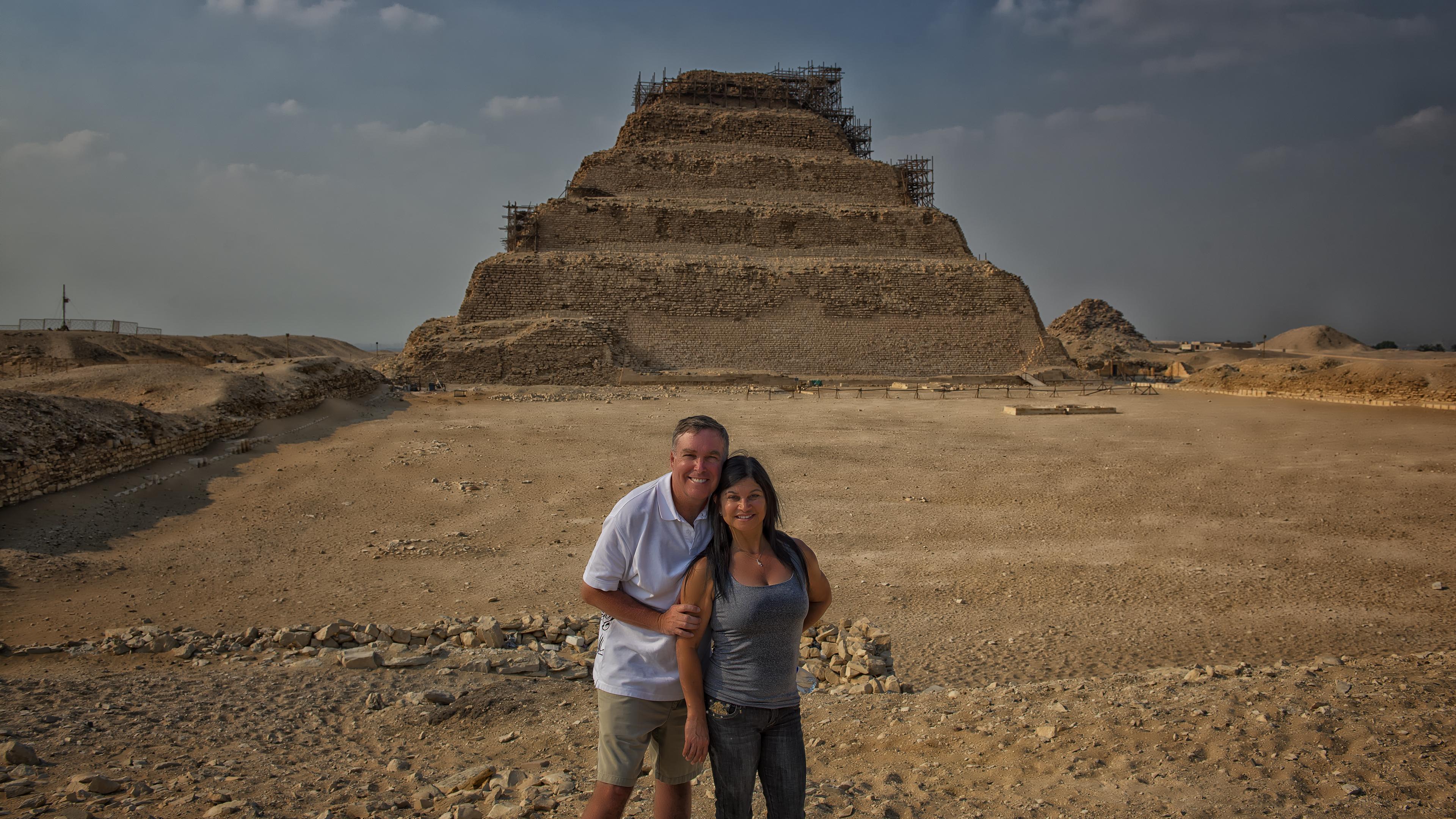 Step Pyramid of Djoser in Memphis