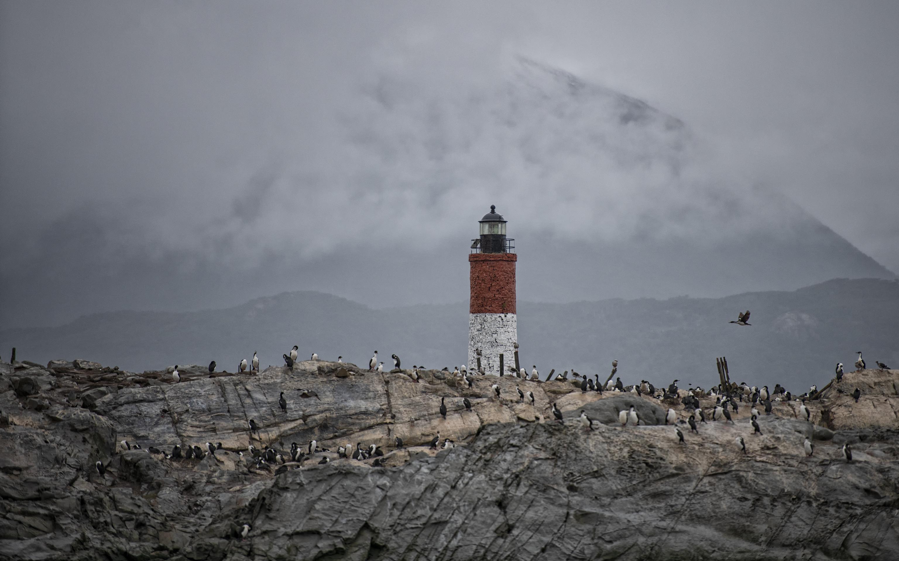 Lighthouse in Ushuaia
