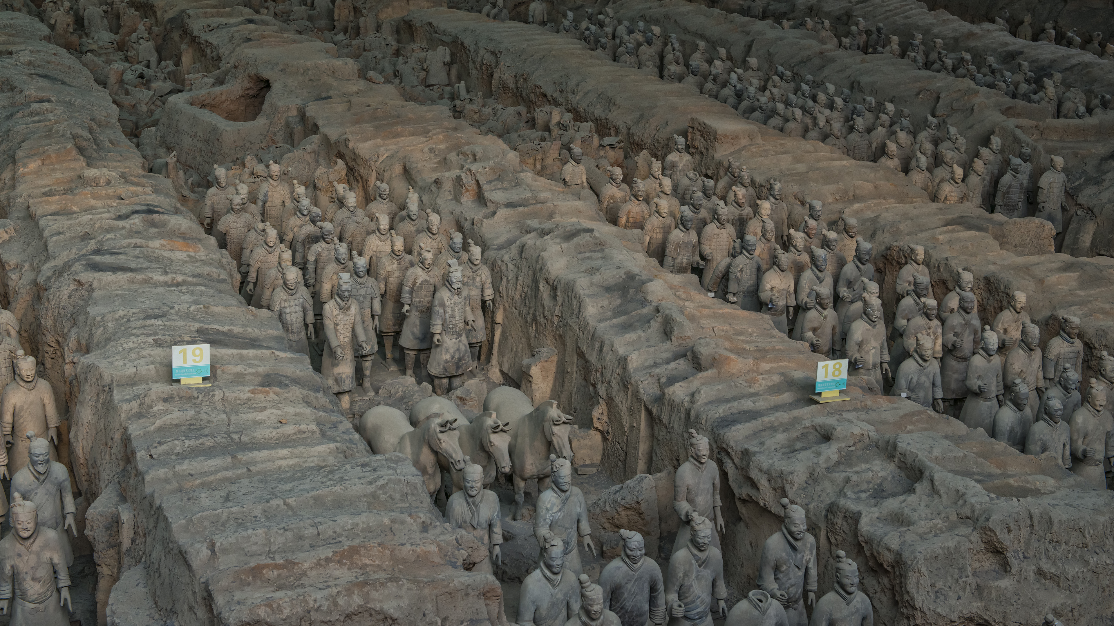 Terra Cotta Warriors in Xian