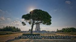 Lone Pine Cemetery in Gallipoli