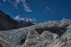 Looking up the Franz Josef Glacier