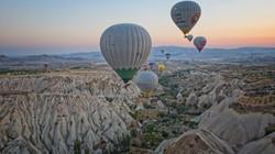 Canyons in Cappadocia