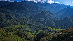 Top of the Mountain in Sapa