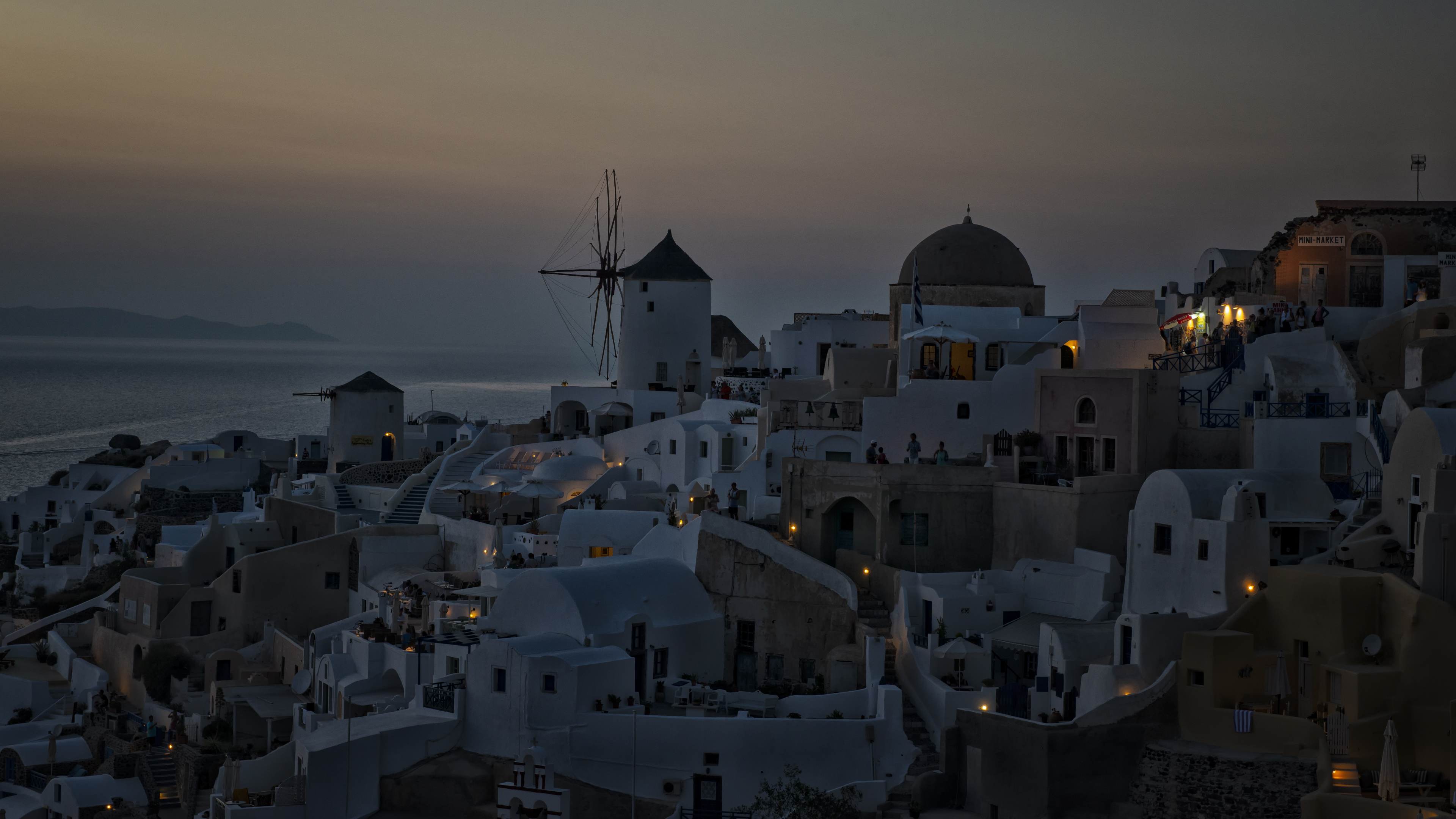 Sunsetting in Santorini