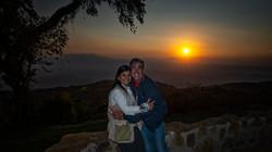 Sunset at the Ngorongoro Crater