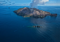 White Island Volcano from a distance