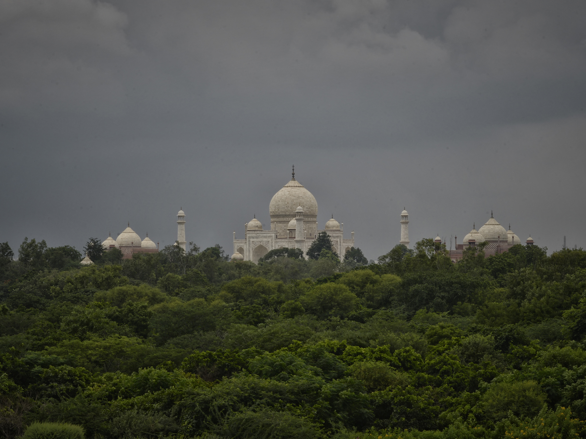 Taj Mahal from Orelia Hotel