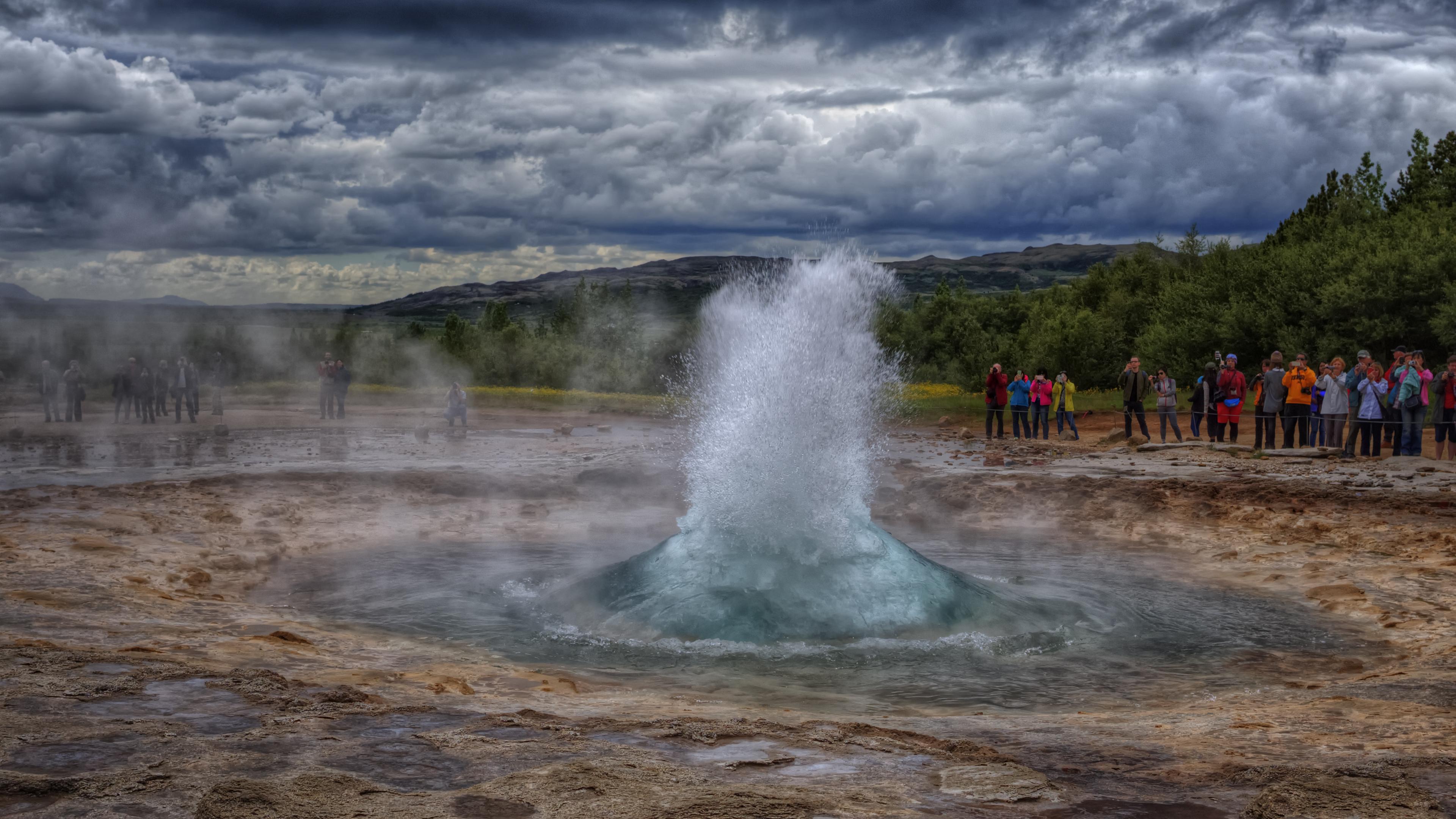 Strokkur Fountain Geyser