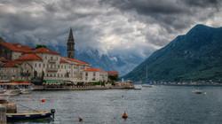 Lake Kotor in Montenegro