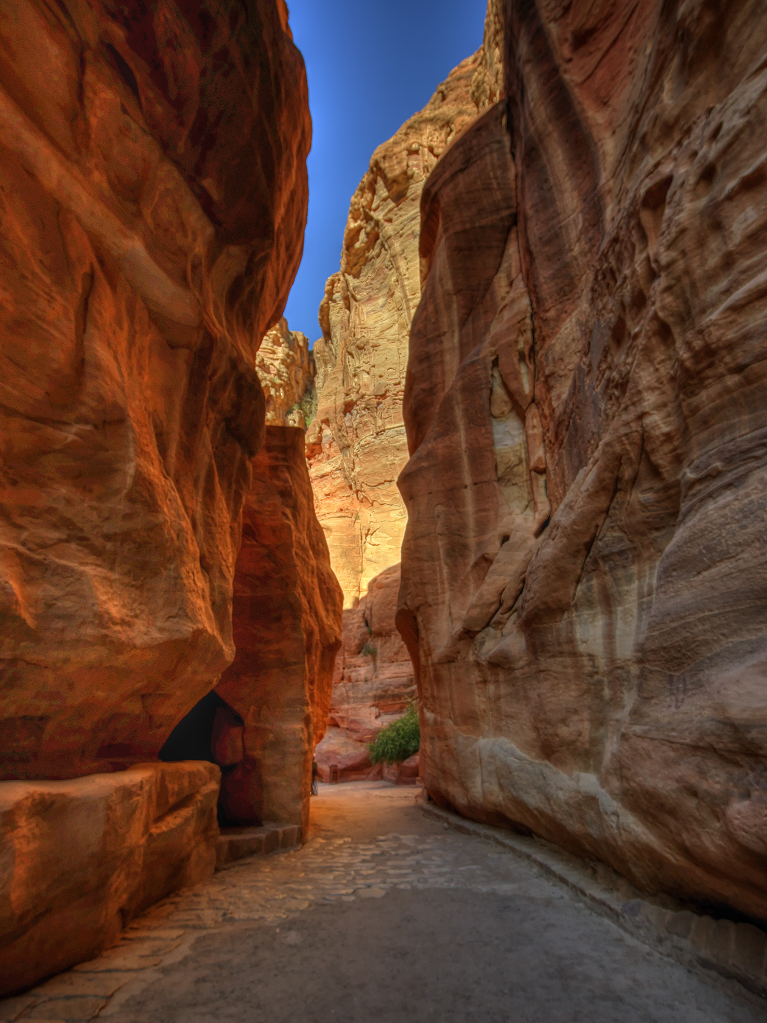 Narrow Path through Petra