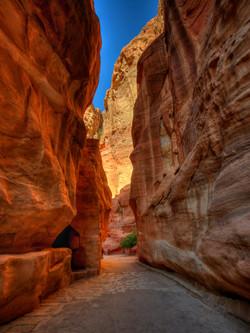 Narrow Path through Petra