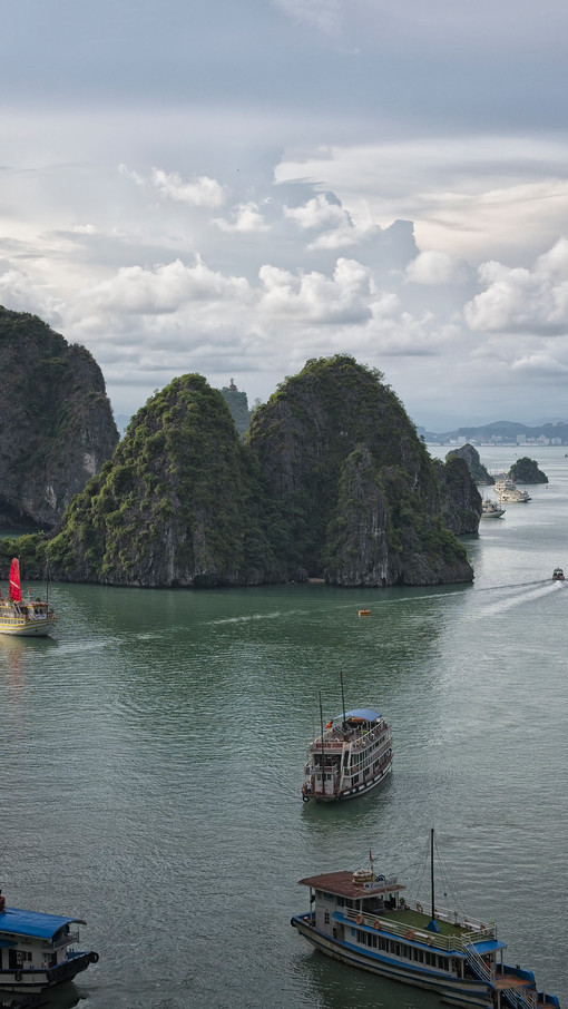 Ha Long Bay, Vietnam - World Heritage Site