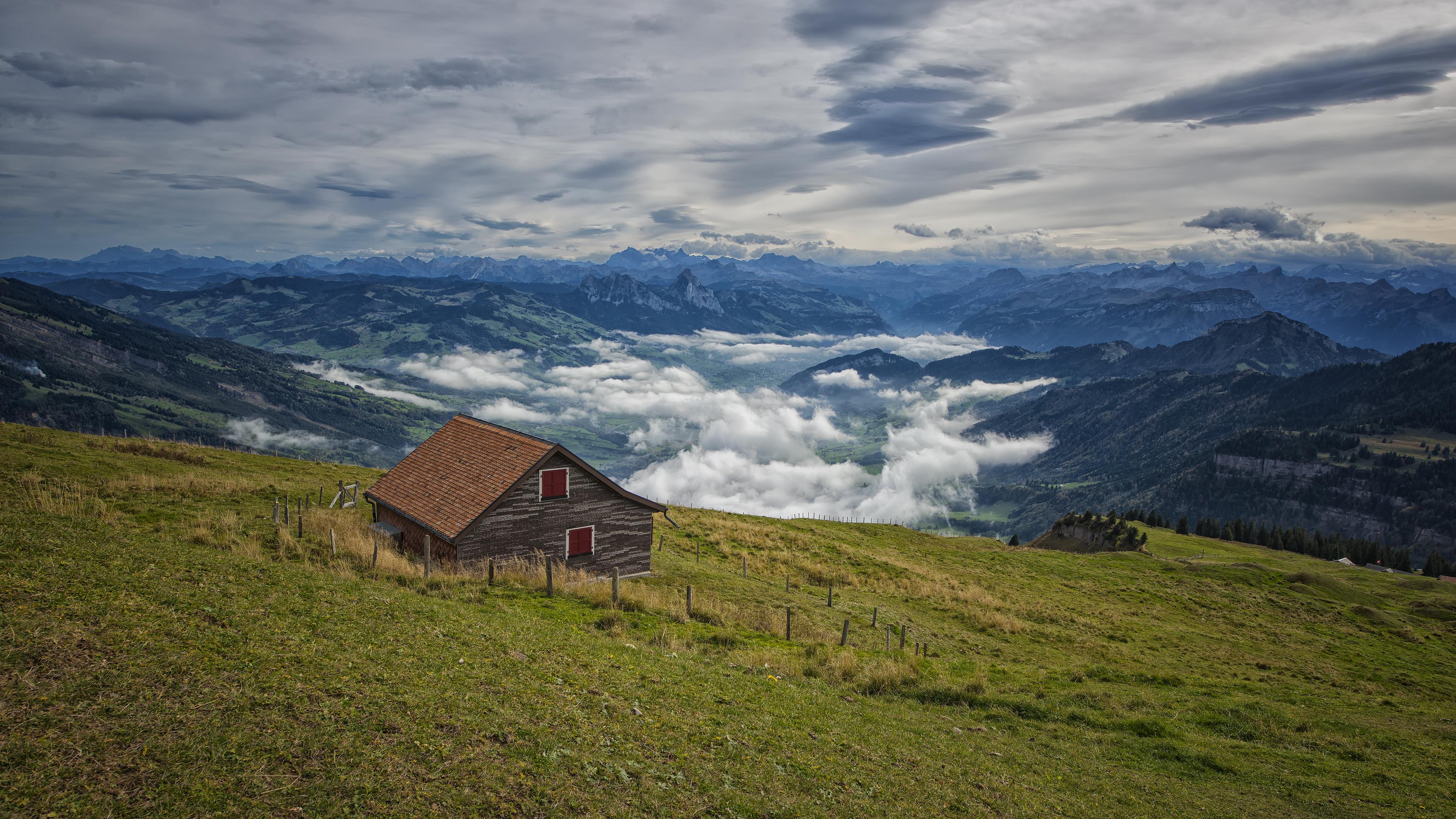 Atop Mt Rigi