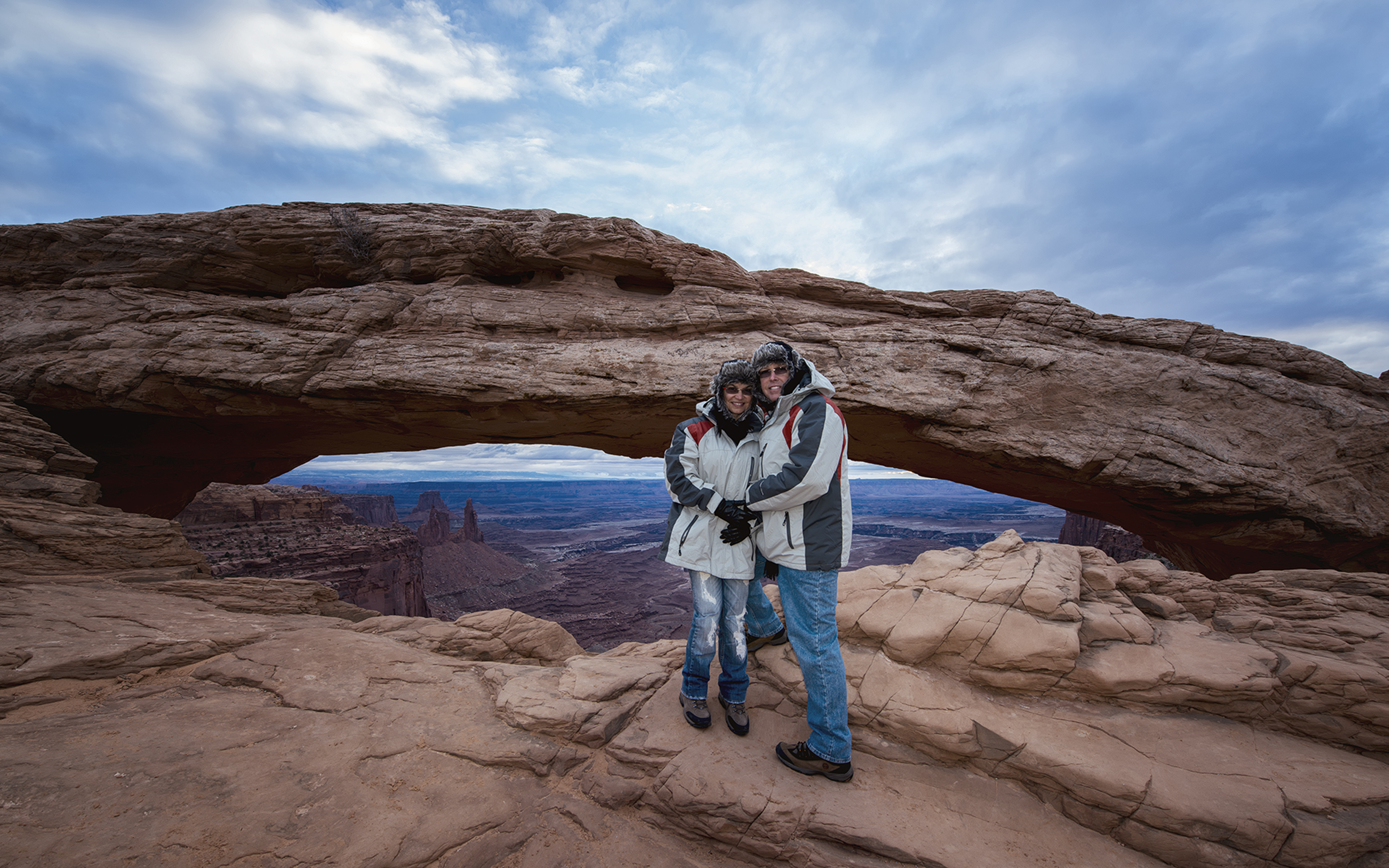 Mesa Arch in Canyonlands NP