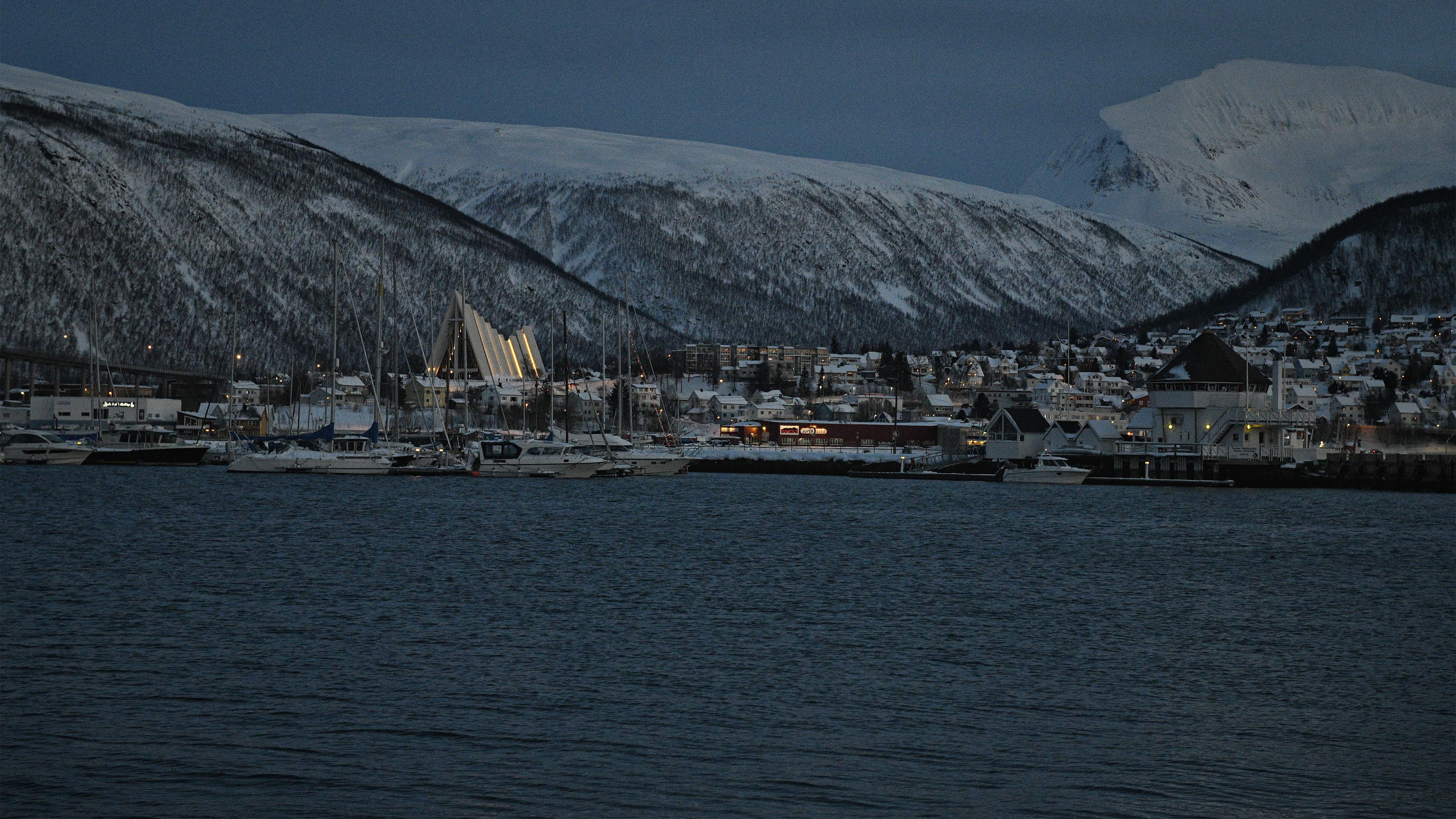 Night Time in Tromso