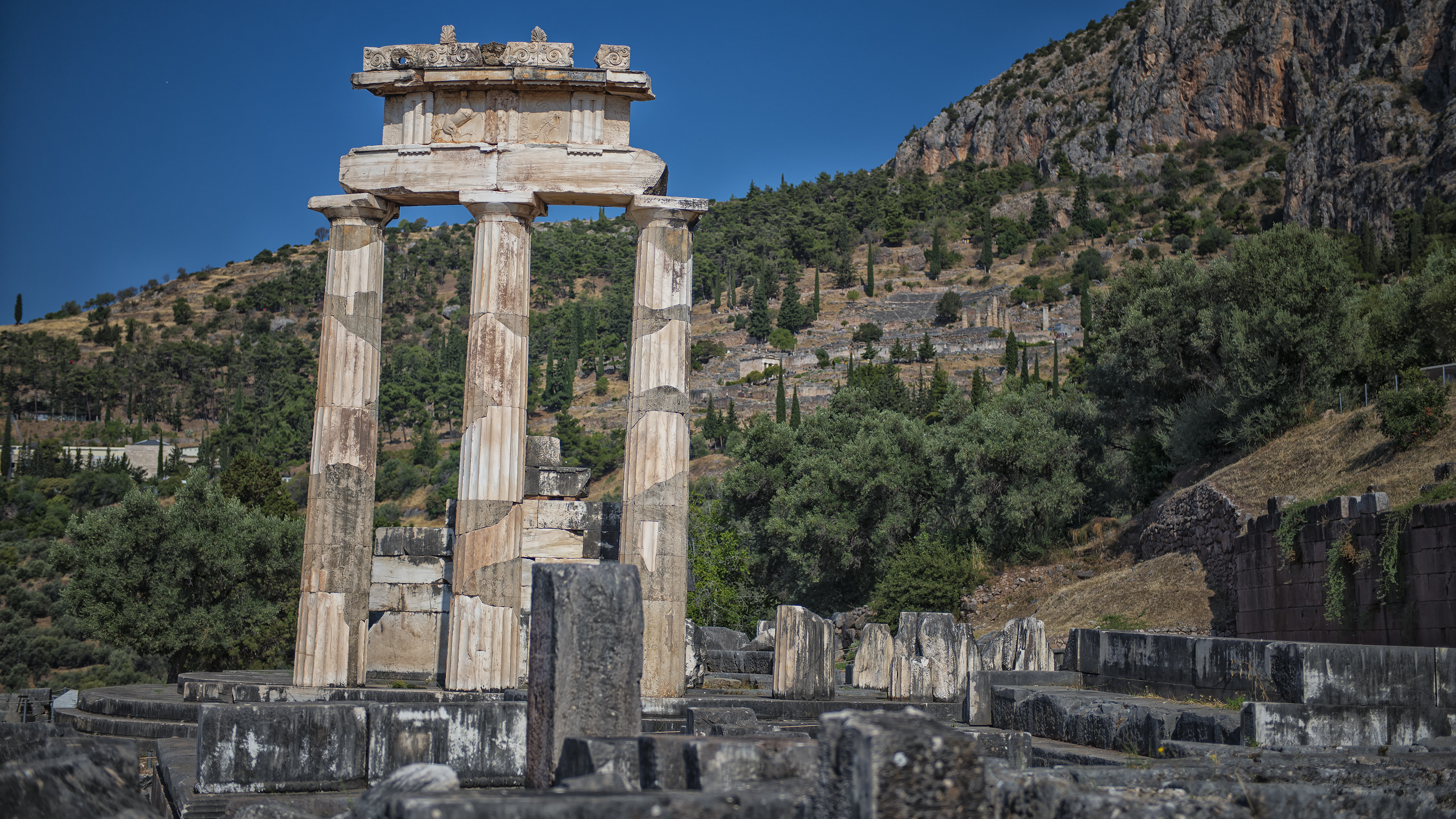 The Temple of Athena Pronaia