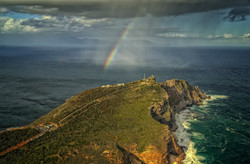 Rain south of the Cape of Good Hope