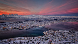 Tromso from the CableWay