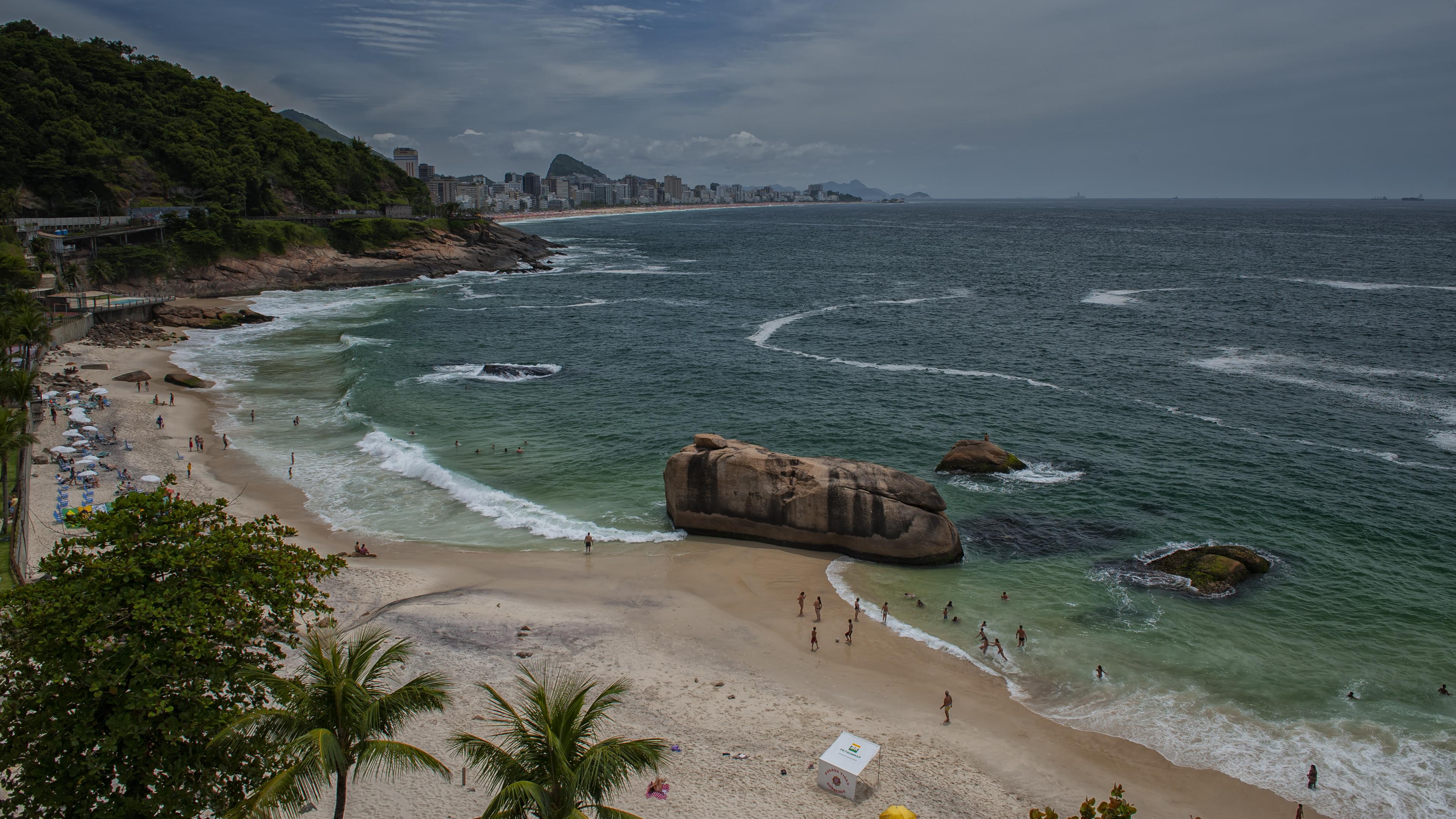 Botafogo Beach in Rio