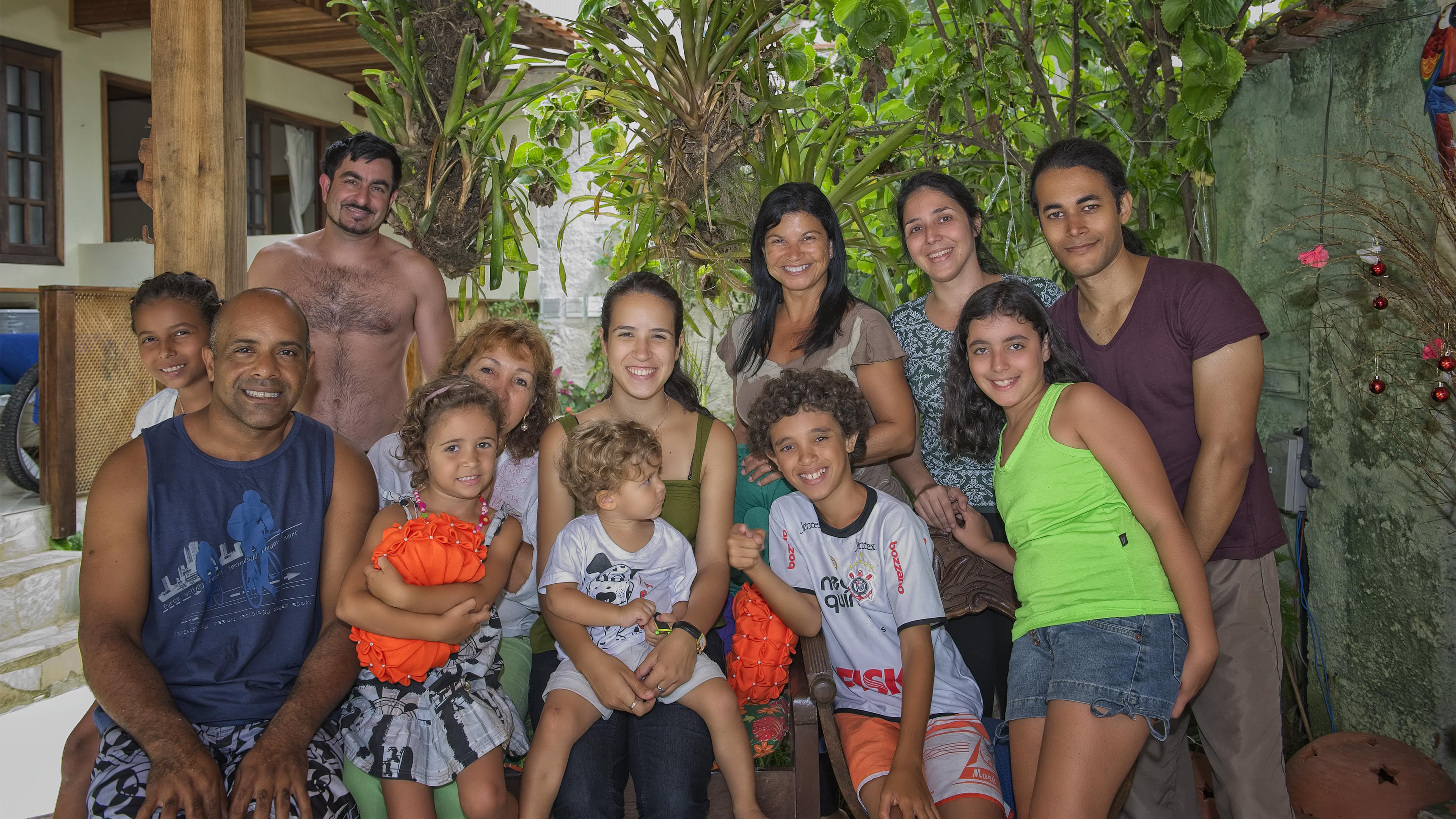 Family in Parati