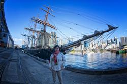 James Craig in Sydney Harbor
