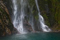 Lower Bowen Falls, Milford Sound