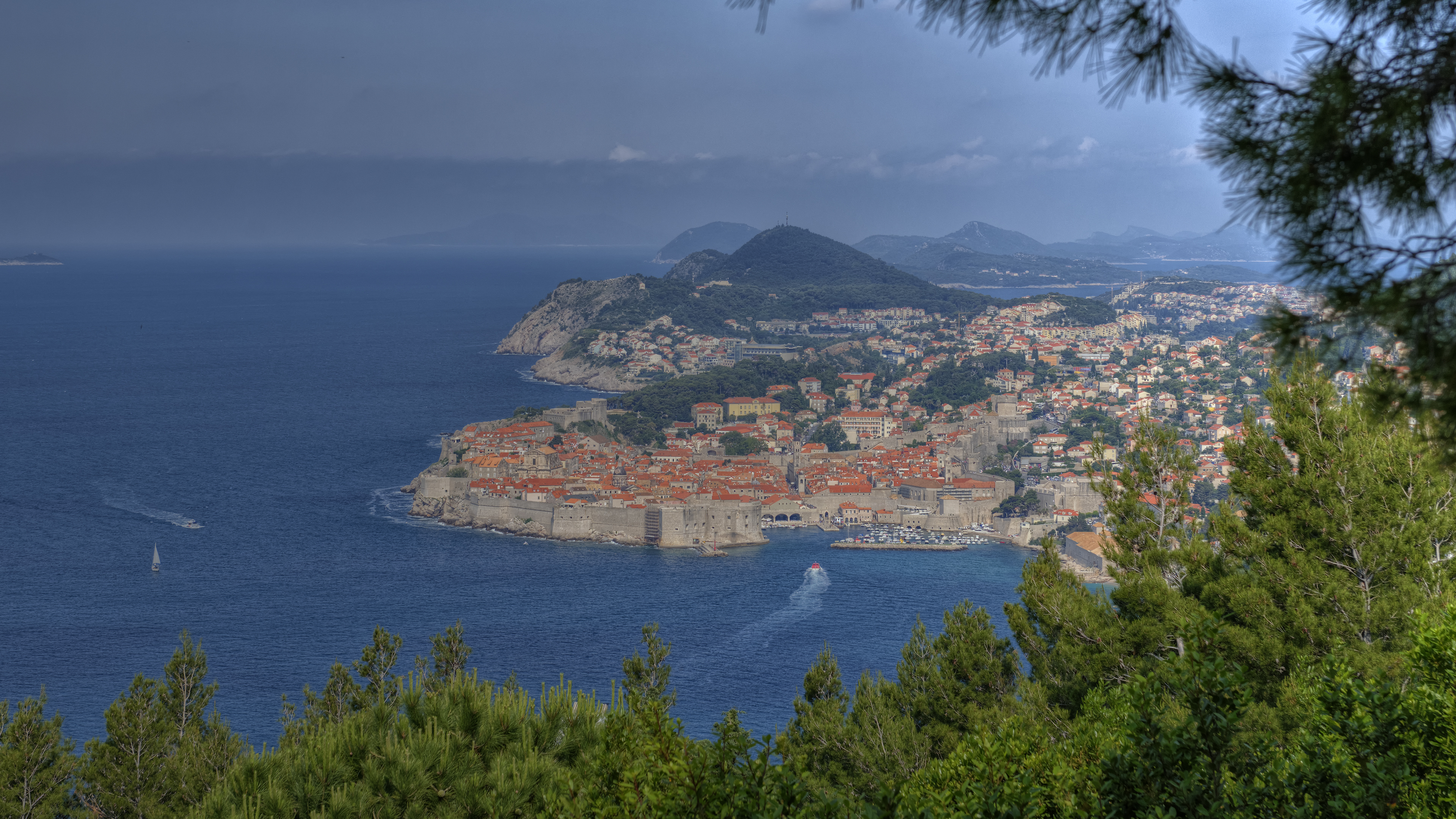 Highest viewpoint of Dubrovnik