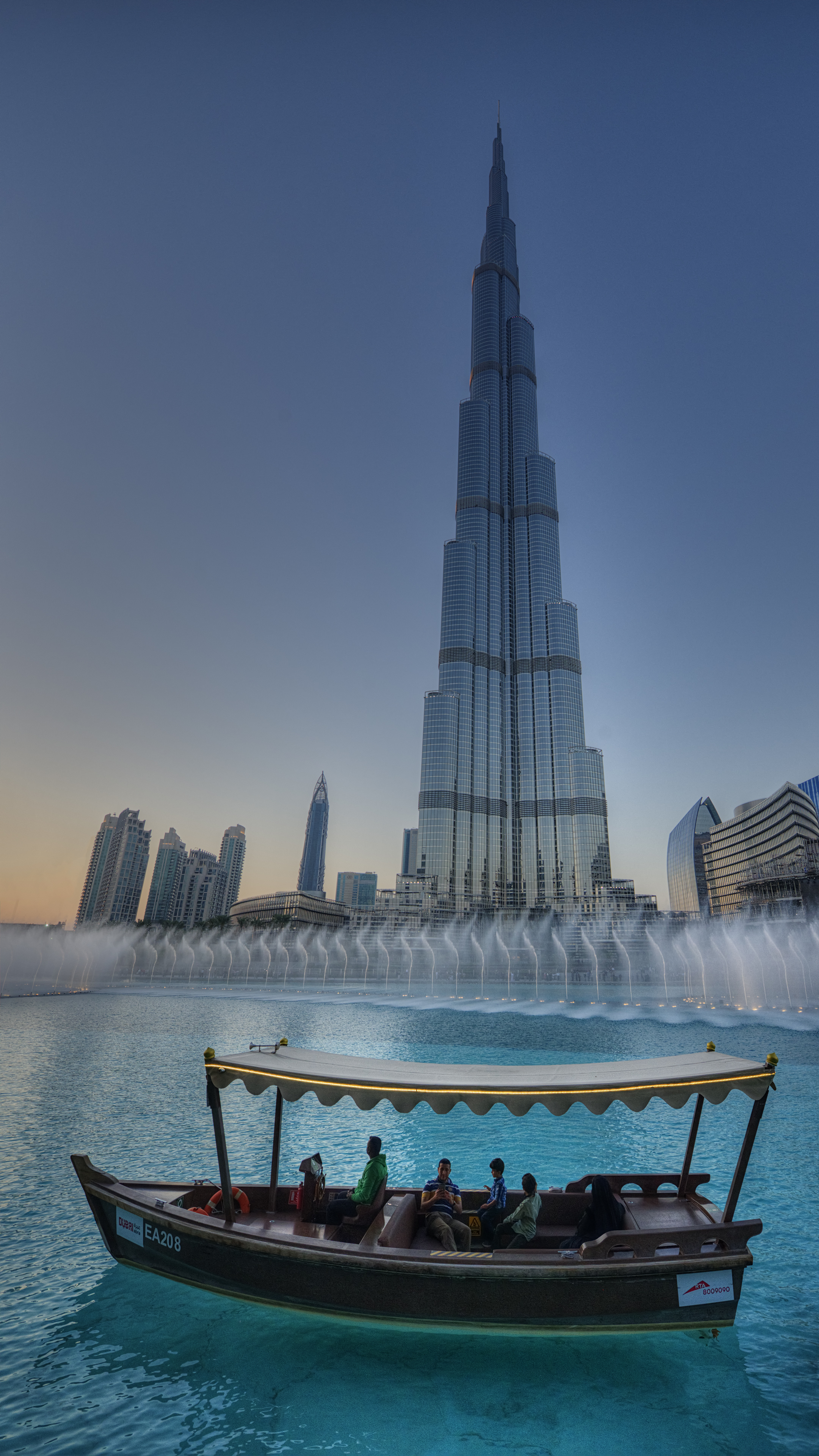 Burj Khalifa and Fountain