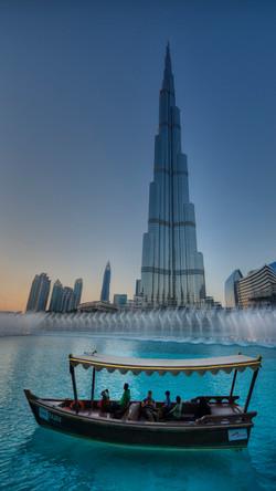 Burj Khalifa and Fountain