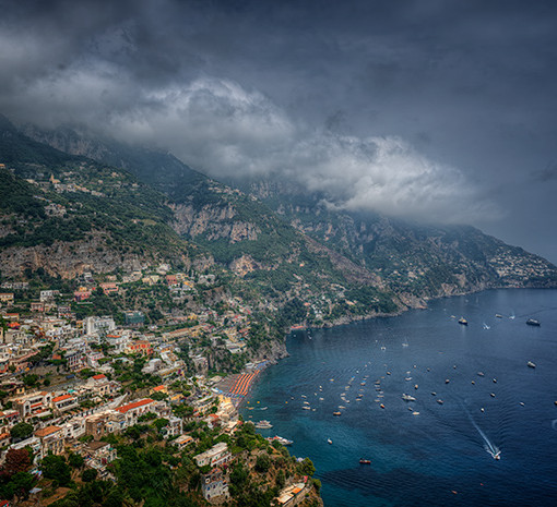 Positano, Italy on the Amalfi Coast