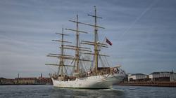 Tall Sailing Ship in Copenhagen