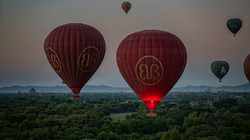 Airborne in Bagan