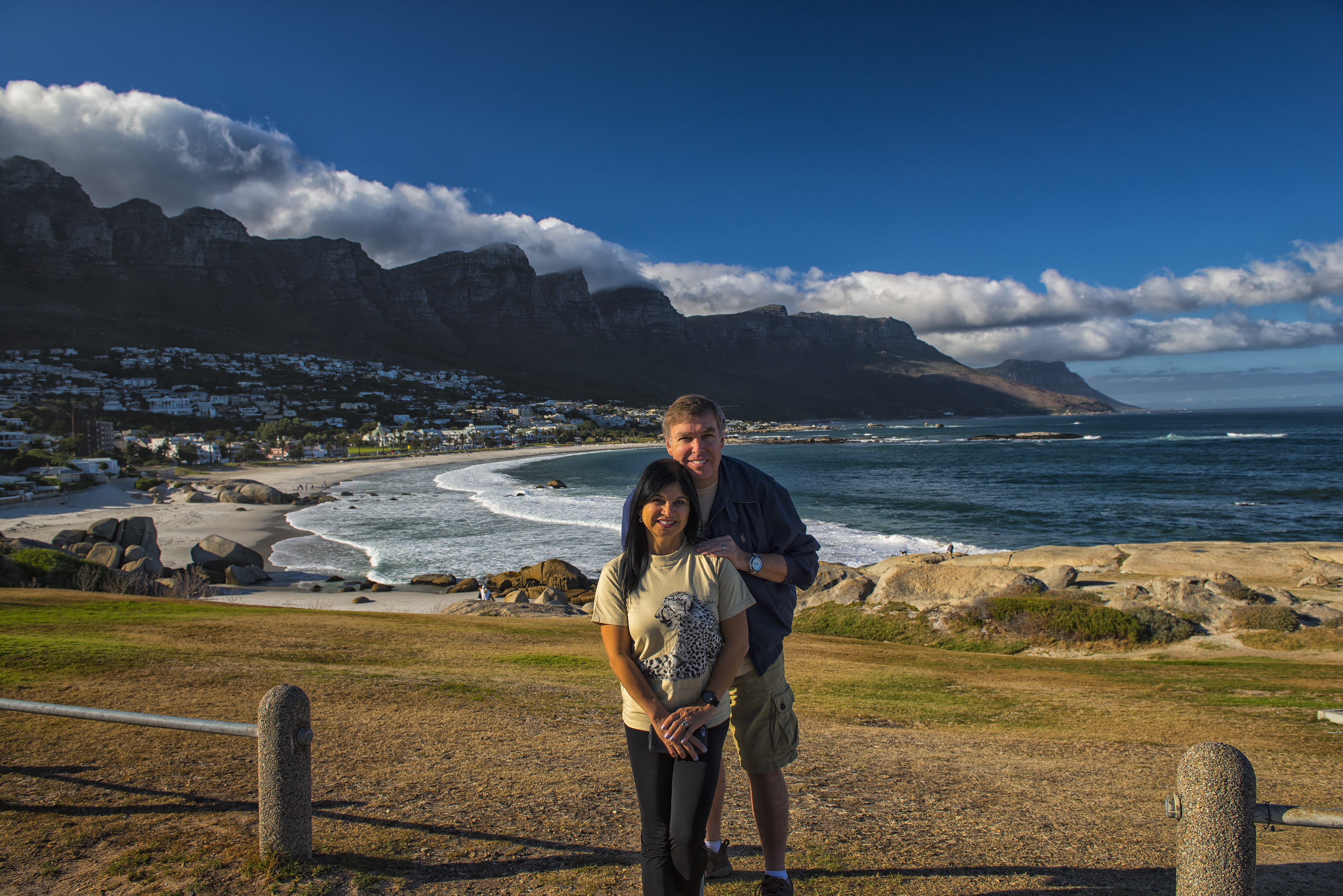 12 Apostles in the Background