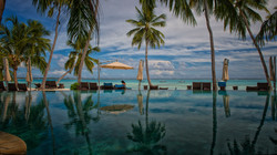 Infinity Pool at Reception