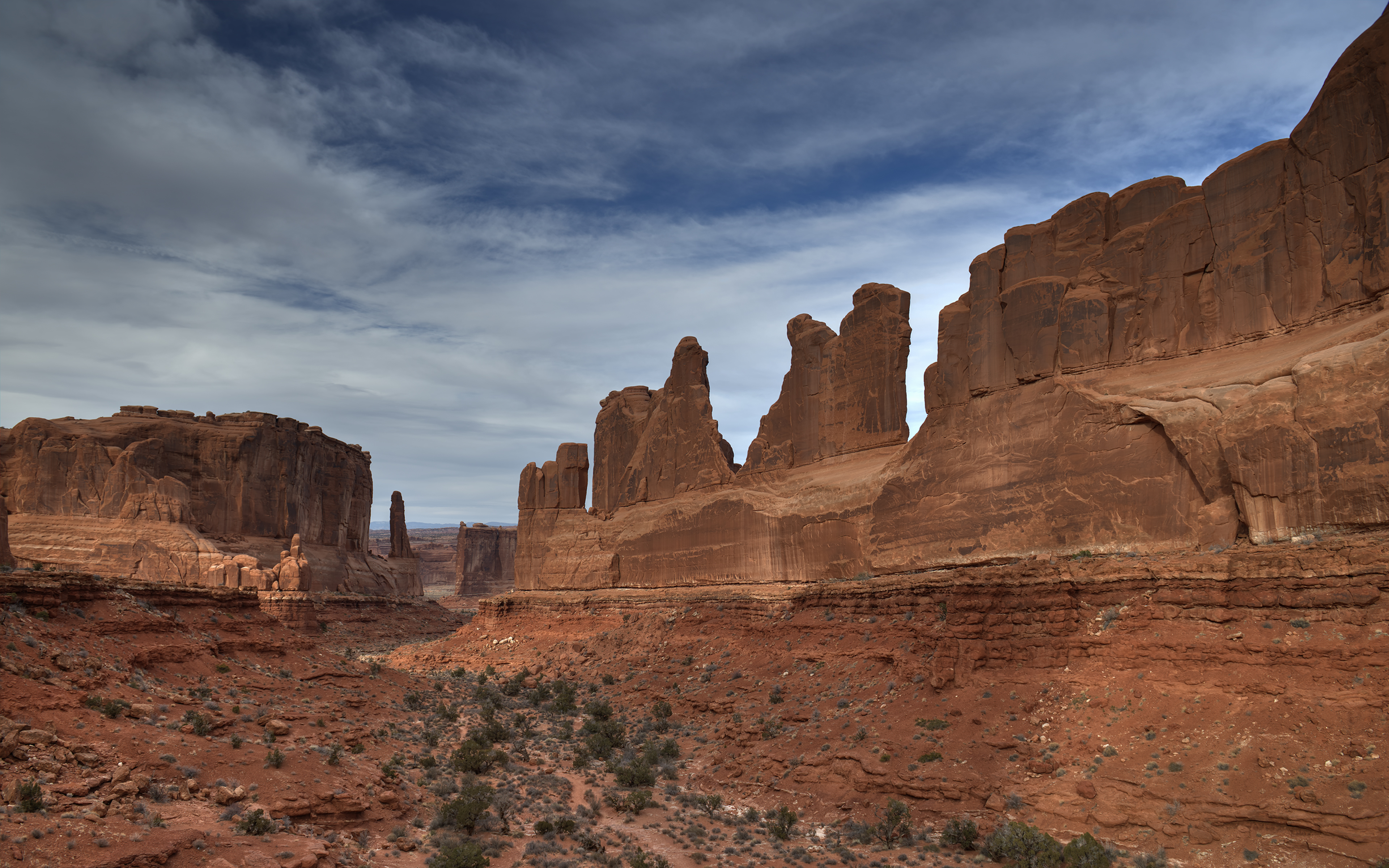 Park Avenue  in Canyonlands NP