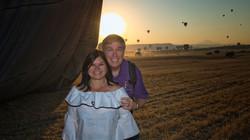 End of the Balloon Flight