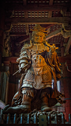 Guardian statue at Todaji