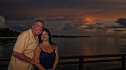 Sunset in Shangri-La