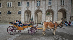 Horse Drawn Carriage in Salzburg