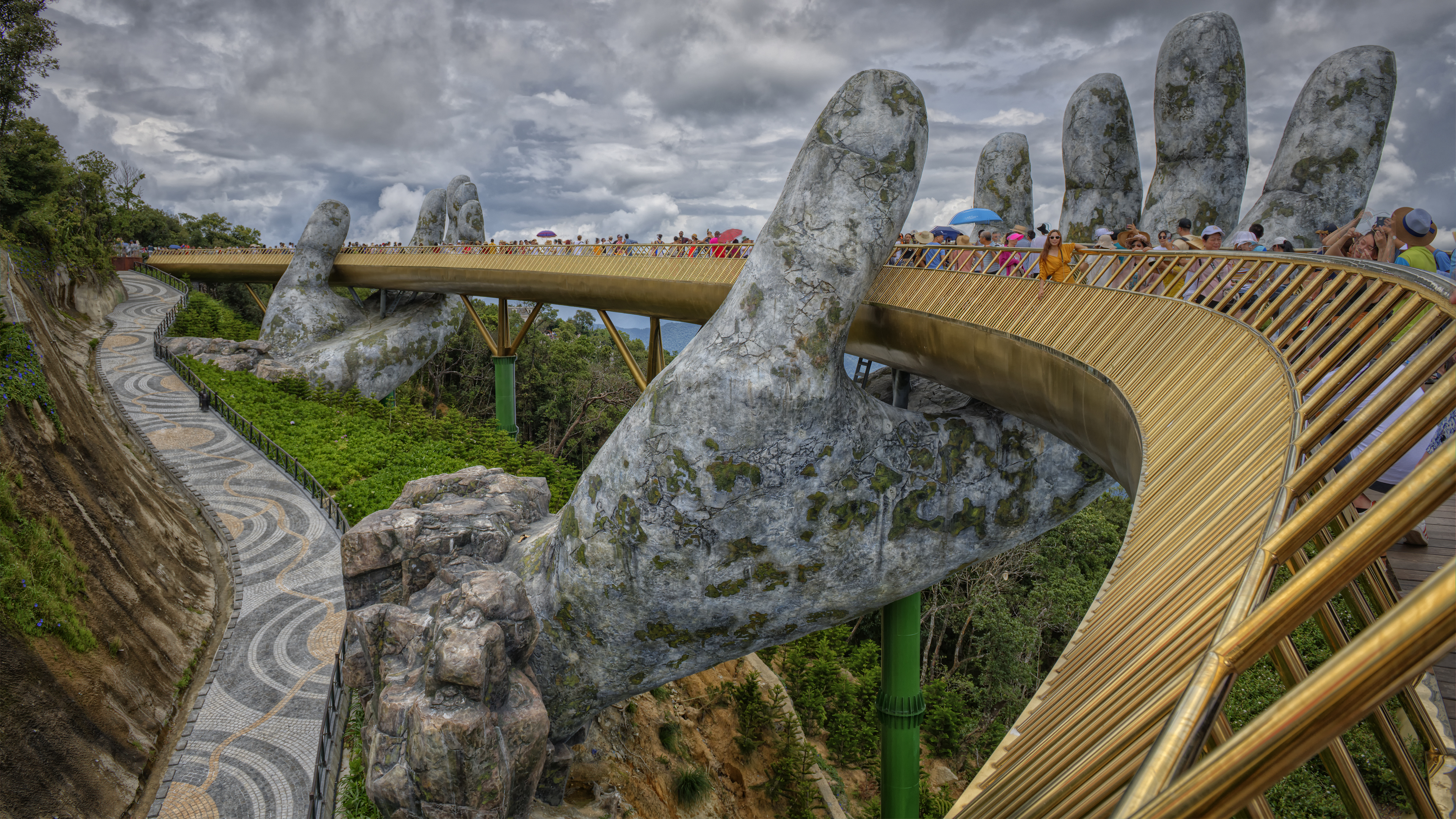 The Golden Bridge in Da Nang