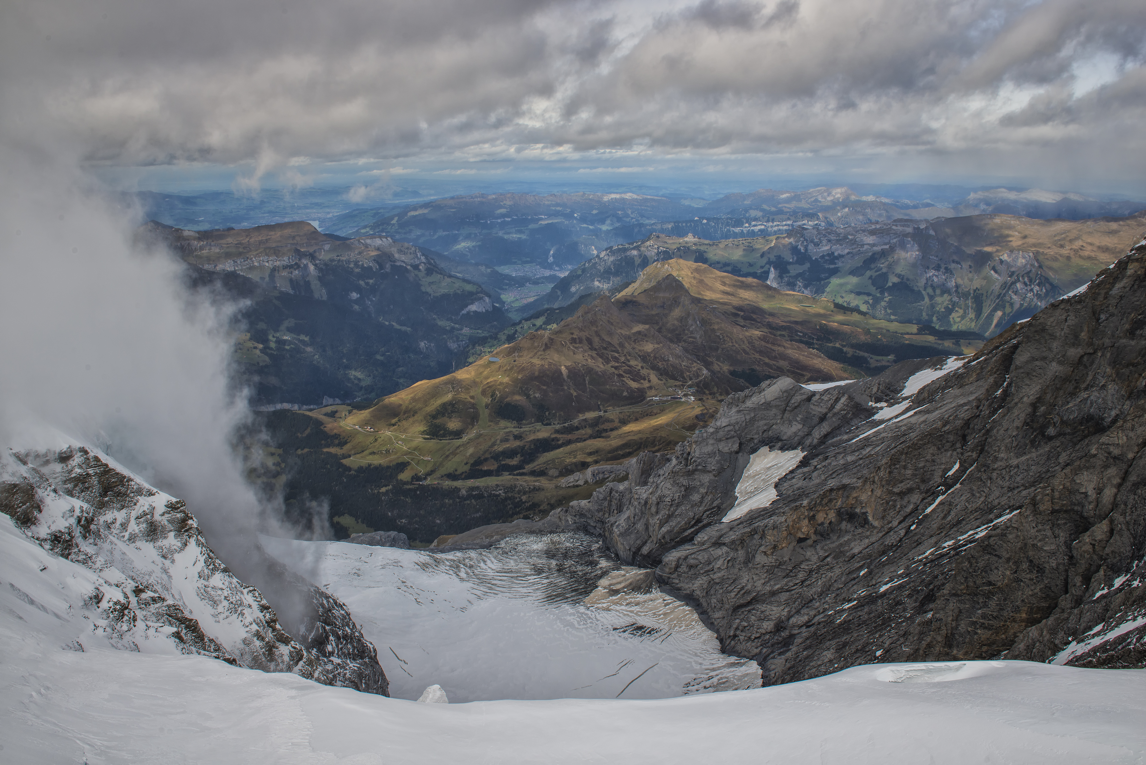 Another view from Jungfraujoch
