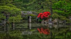Imperial Garden in Kyoto, Japan