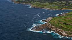 Coast Line around Sydney